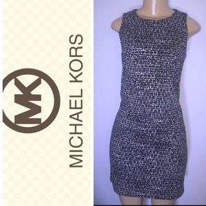 Michael Kors black and white sheath szS